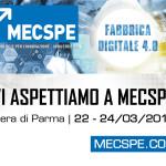 Clacson vi aspetta a MECSPE alle fiere di Parma sal 22 al 24 marzo 2018