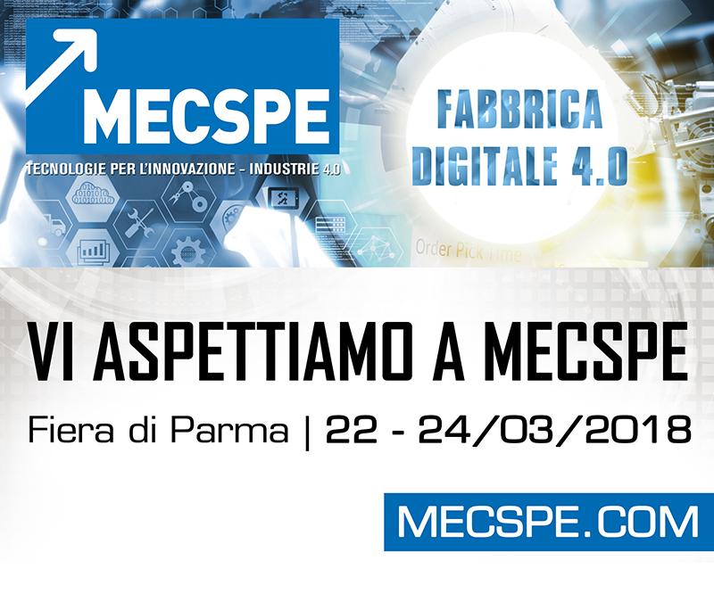 Clacson a MECSPE 2018 presso fiere di Parma